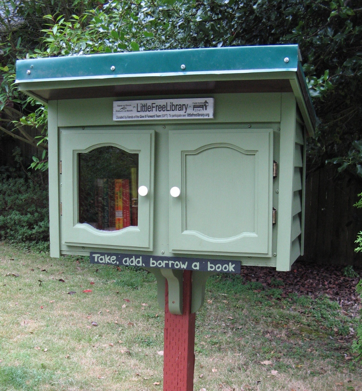Come Use Our Little Free Library Pinehurst Seattle